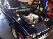 Triumph Stag Rover V8 fitted angle