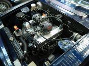 Triumph stag rover v8 passenger side angle